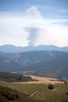 2008 Basin Complex Fire from Carmel Valley