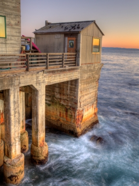 Old Pier On Cannery Row