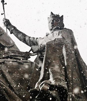 Saint Louis in a Snow Storm