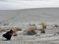 Christian at White Sands