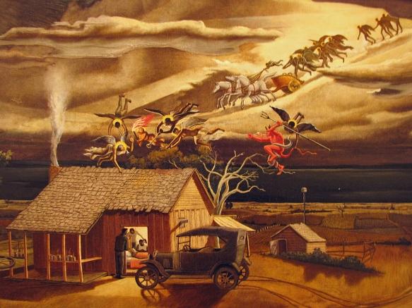 Swing Low, Sweet Chariot by John McCrady, 1937