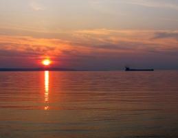 Cabin Sunset