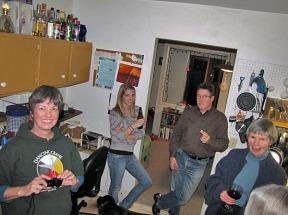 Karen, Janet, Bill and Bubs