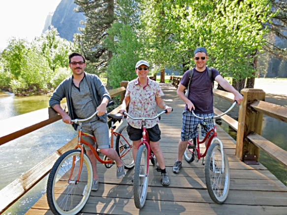 Bicycling the Yosemite Valley Floor