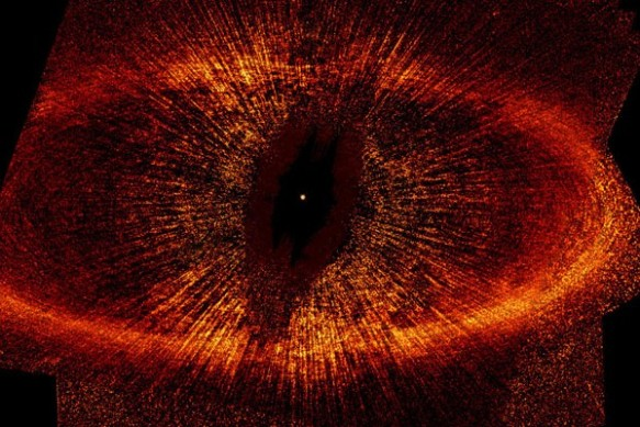 Eye of Sauron - Fomalhaut's Debris Ring - NASA Photo