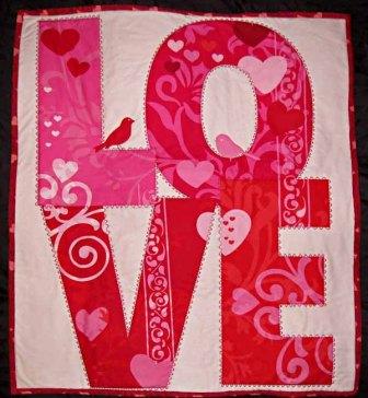 Anne's LOVE Quilt