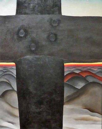 Black Cross, New Mexico, by Georgia O'Keeffe