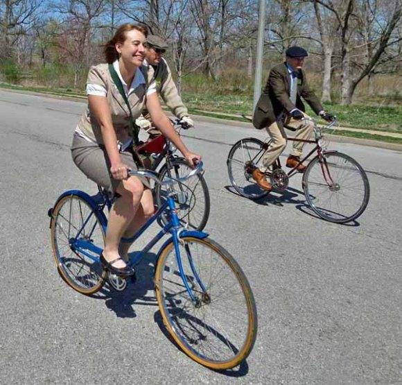 Three Tweed Riders