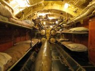 Forward Torpedo Room