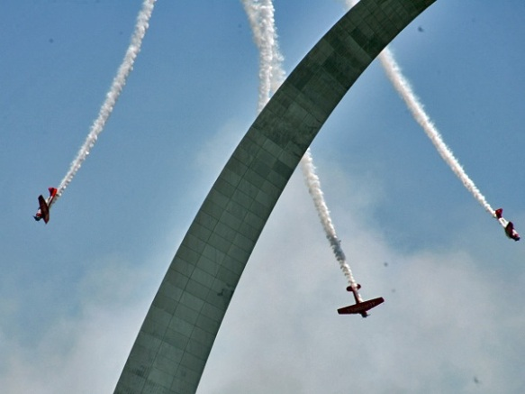 Aeroshell and the Arch