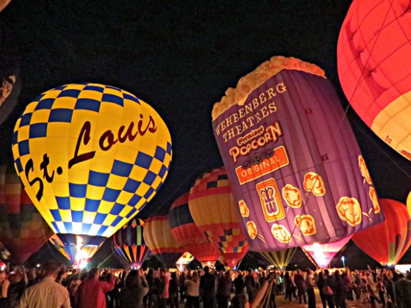 Forest Park Balloon Glow 2013