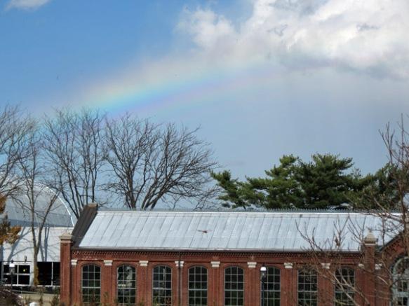 Rainbow at the Garden