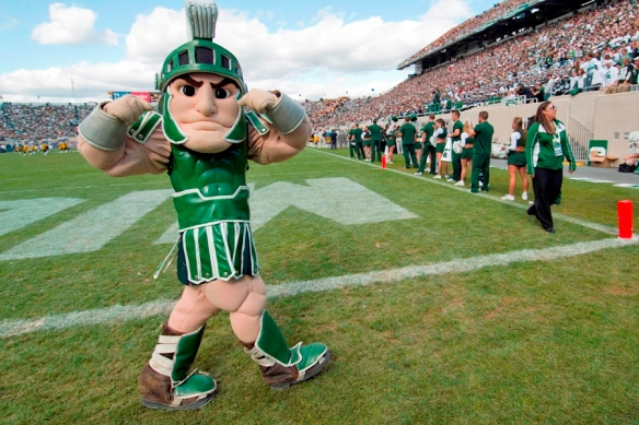Michigan State Mascot Sparty