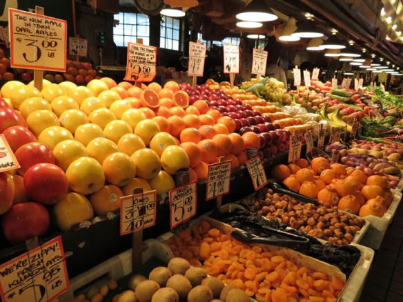 Pike Place Market's Fruits and Vegetables