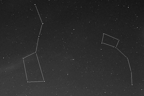 Big and Little Dipper