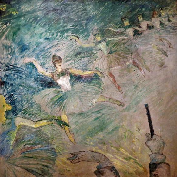 Ballet Dancers by Henri de Toulouse-Lautrec, 1886