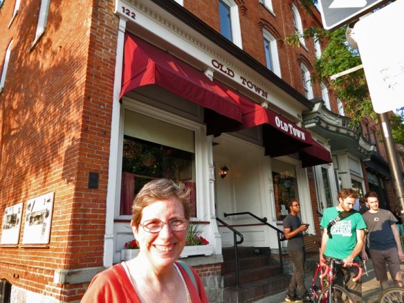 Anne at the Old Town in Ann Arbor - Kind of a Non Sequitur