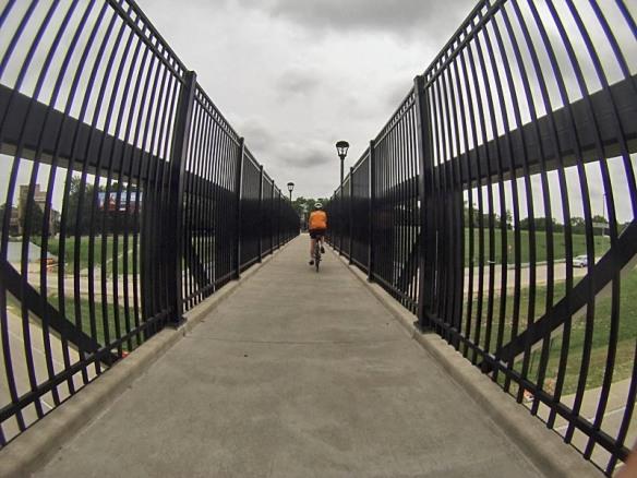 Biking Between Bars