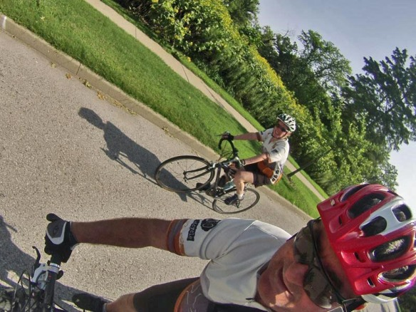 Biking in the Park Together Again