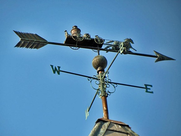 Old Ann Arbor Fire Station Weather Vane