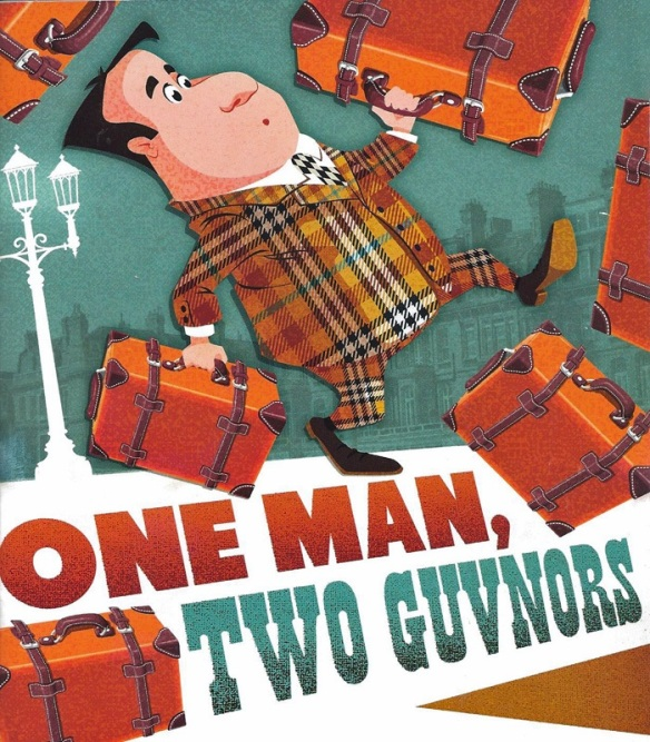 One Man, Two Guvnors Program Cover