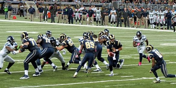 Rams Versus Seahawks