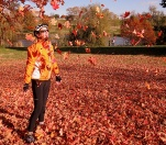 Anne and Falling Leaves