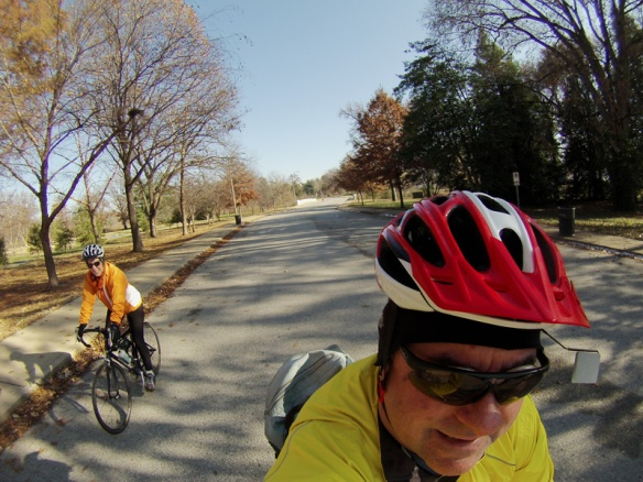 Chilly GoPro Ride in the Park