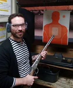 Dan at the Los Angeles Gun Club