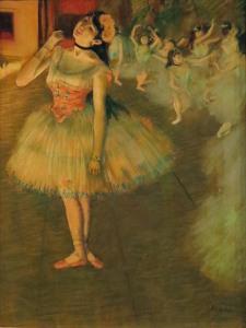 The Star, Edgar Degas, 1879-81