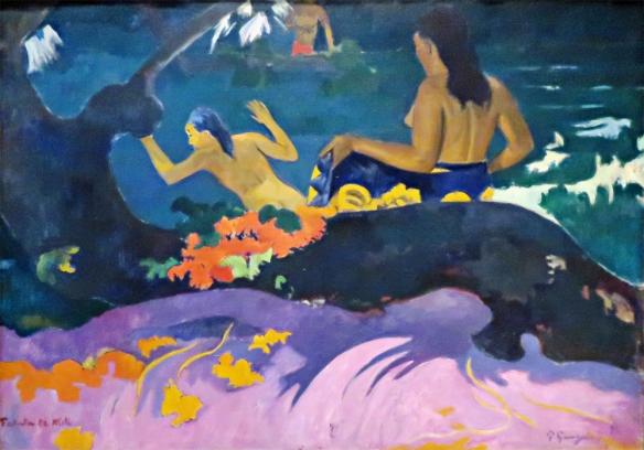 Fatata te Miti (By the Sea), 1892, Paul Gauguin