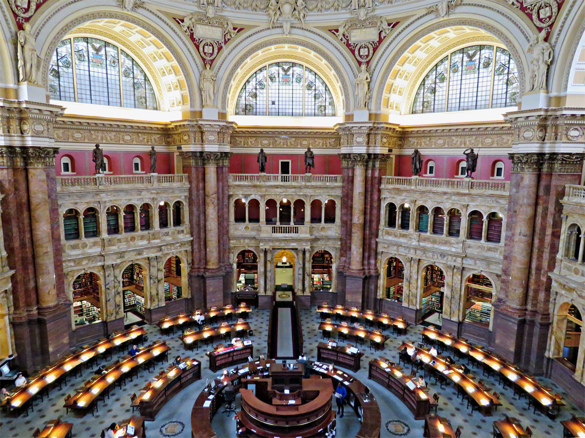 Library Of Congress Reading Room History