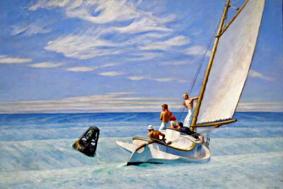 Ground Swell, Edward Hopper, 1939