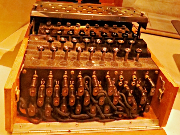 Chicago's U-505 Enigma Machine