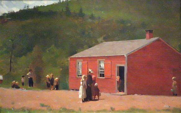School Time, Winslow Homer, 1874