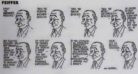 Jules Feiffer on LBJ