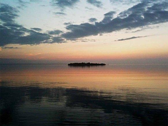 Round Island at Sunset