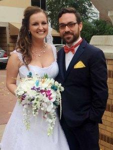 Victoria & Bridesman