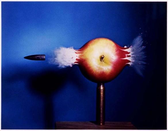 Bullet through Apple, Harold Edgerton, 1964, Smithsonian