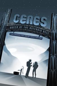 JPL's Ceres Travel Poster
