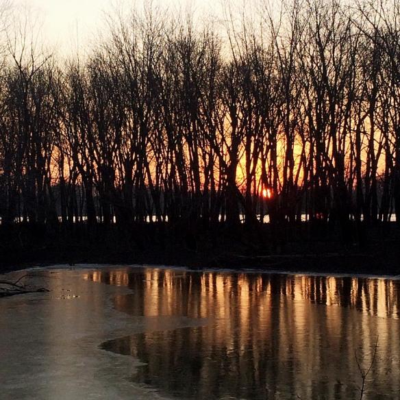 Gilbert Lake Sunrise