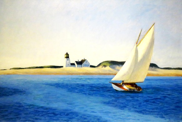 The Long Leg, Edward Hopper, 1930