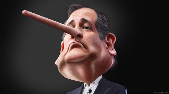 Lyin' Ted Cruz by Donkey Hotey