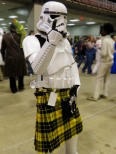 Stormtrooper Showing His Tartan