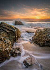 Sundown at Garrapata Beach in Big Sur California Number #2