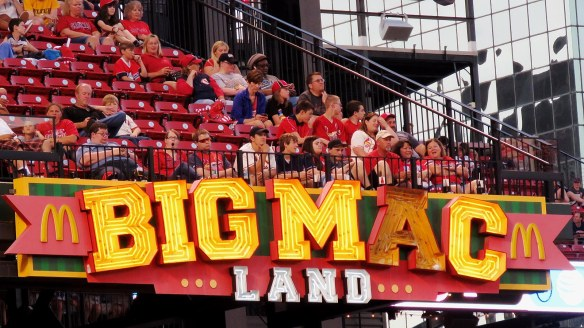 Big Mac Land Sign