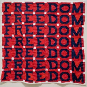 Freedom Quilt, Jessie B. Telfair, 1983