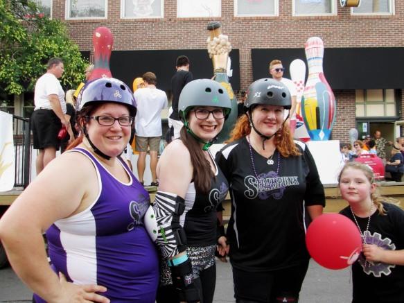 Steampunk Roller Derby Team