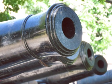Canons on the Battlement