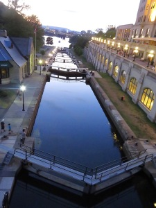 Locks on the Rideau Canal